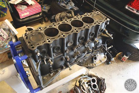 project boosted baby hauler engine rebuild part  speed academy