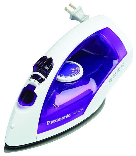 Setrika Panasonic Ni E200t panasonic steam iron ni e200t titanium non stick soleplate welcome to brandbazaarbd best