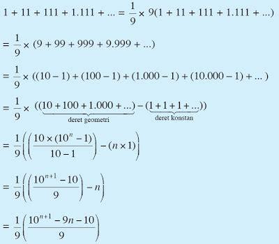 galih rahmadi contoh soal barisan  deret aritmatika