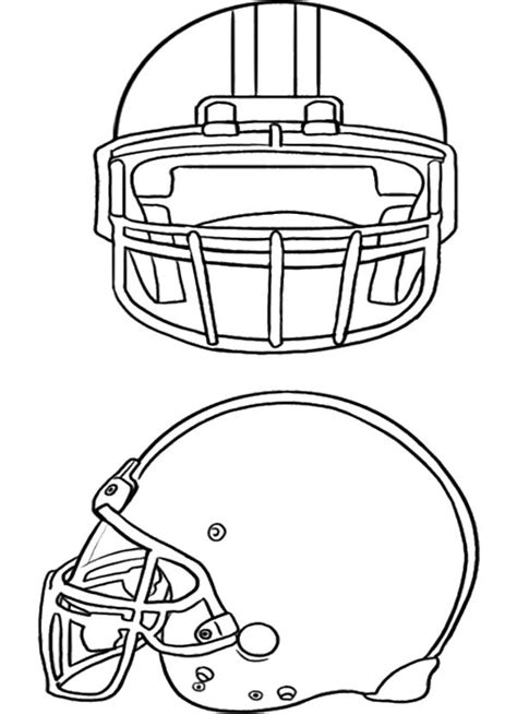 two football helmet coloring page football pinterest