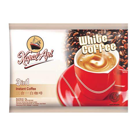 Kapal Api Grande White Coffee Topping Bag harga ulasan kapal api white coffee 3 in 1 gratis gelas bulan ini perbandingan kelebihan dan