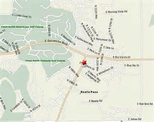 carefree arizona map locations carefree