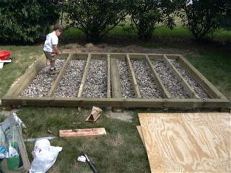 Garden Shed Foundations by Shed Foundation Outdoor Shed Foundations Where To Begin Infobarrel