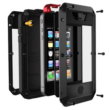 Lunatik Taktik Hardcase With Gorilla Glass For Iphone 44s lunatik taktik hardcase with gorilla glass for
