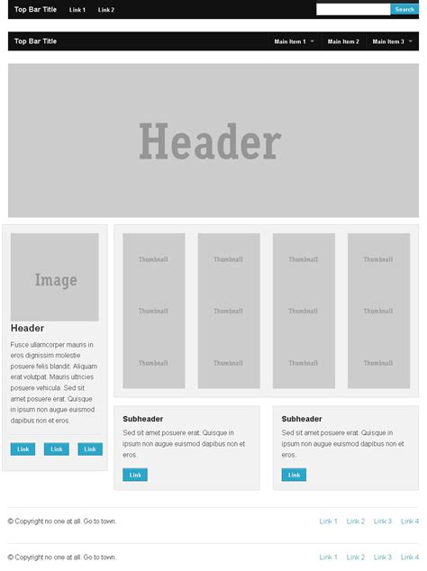 html templates foundation gt gt 20 great zurb foundation