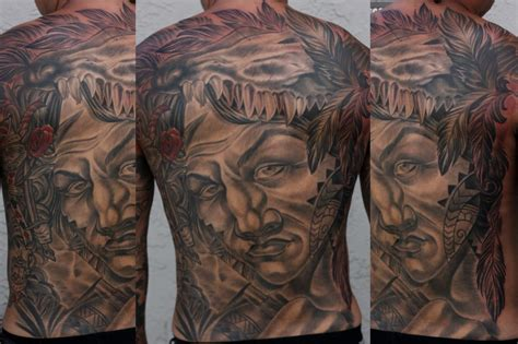 tattoo expo san diego san diego artist terry ribera custom warrior