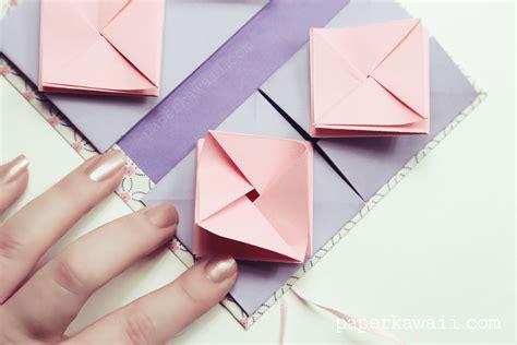 Origami China - origami thread book tutorial paper kawaii