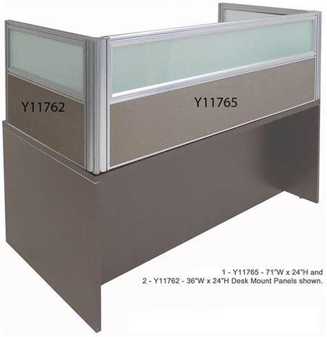 desk mounted privacy panel 24 quot h desk mount privacy panel series 24 quot w x 24 quot h panel