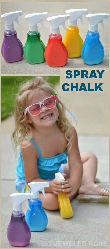 diy chalk paint in a sprayer washable spray chalk what a way for to make