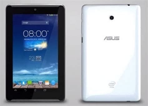 Hp Second Asus Fonepad 7 asus unveils fonepad 7 features dual atom cpu and
