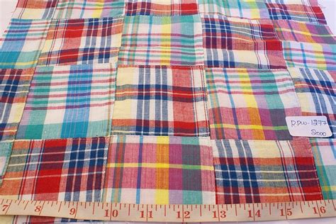 Patchwork Madras Fabric - patchwork madras fabric store for patchwork madras plaid