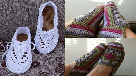 zapatos crochet paso a paso youtube como tejer botas y zapatos para damas el paso a paso