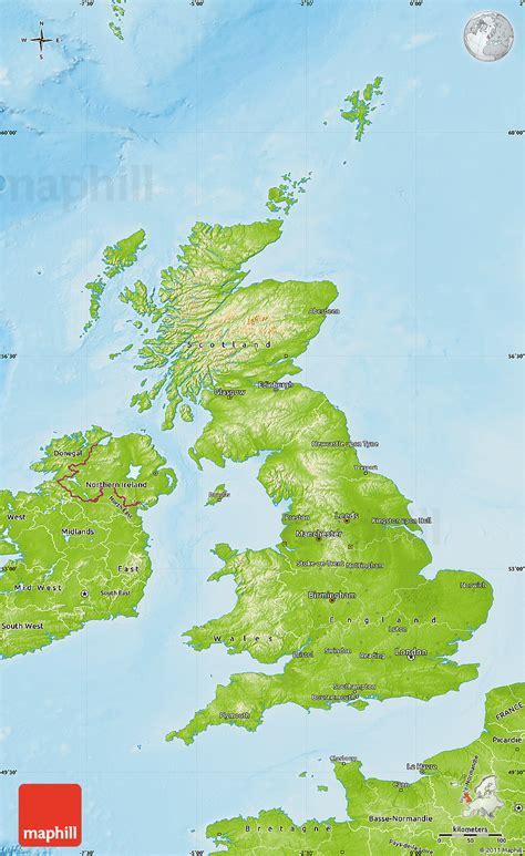uk map map of uk united kingdom world map physical map of united kingdom