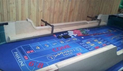 how to build a craps table craps journey
