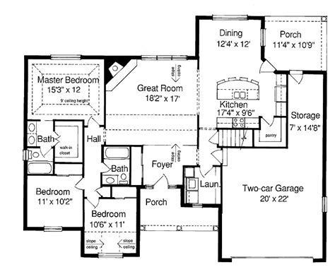 Ranch Style House Plans With Basement Future Home Ranch House Floor Plans With Basement