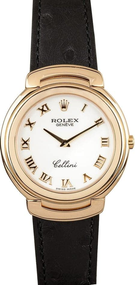 mens rolex cellini cestello 6623 bob s watches