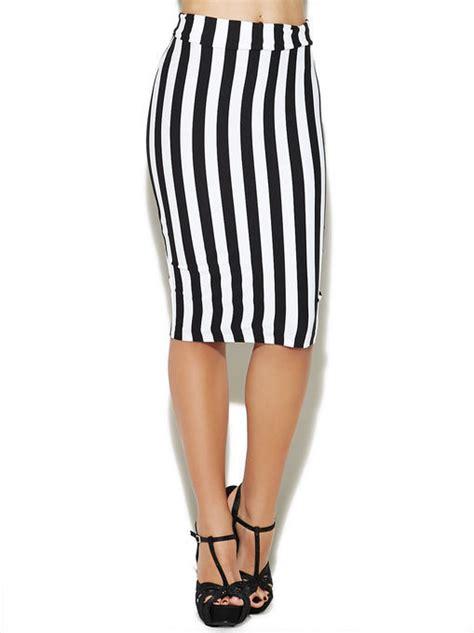 Vertical Stripe Skirt arden b vertical stripe midi skirt where to buy how to