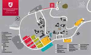 Washington State University Map by Campus Map Directions And Parking Information Wsu Vancouver