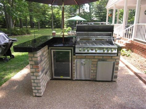small backyard kitchen photos of small outdoor kitchens