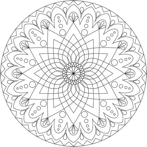 mindful mandalas a mandala free coloring pages of mindful