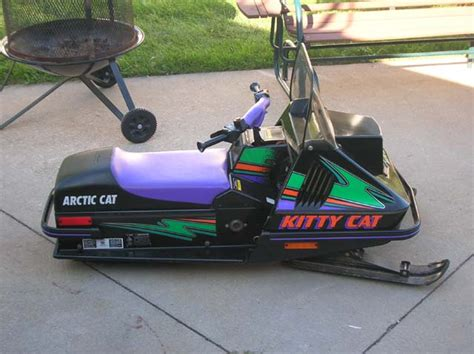 Galerry arctic cat kitty cat snowmobile