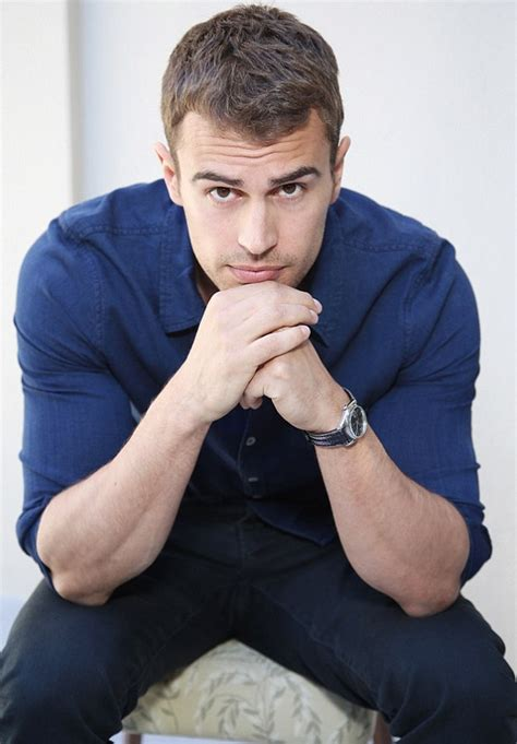 theo james wearing a joe s shirt denimology