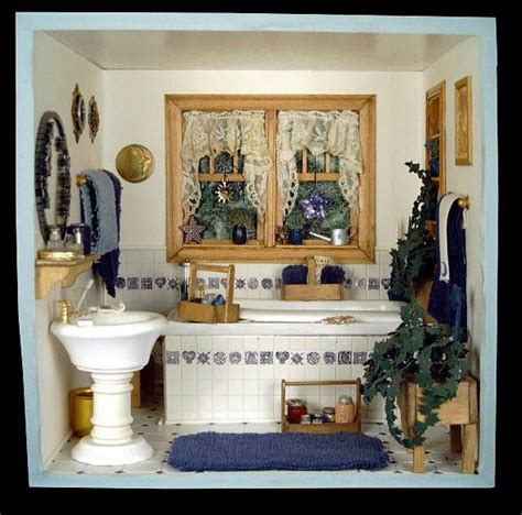 miniature dollhouse bathrooms 69 best dollhouse bathrooms images on pinterest doll