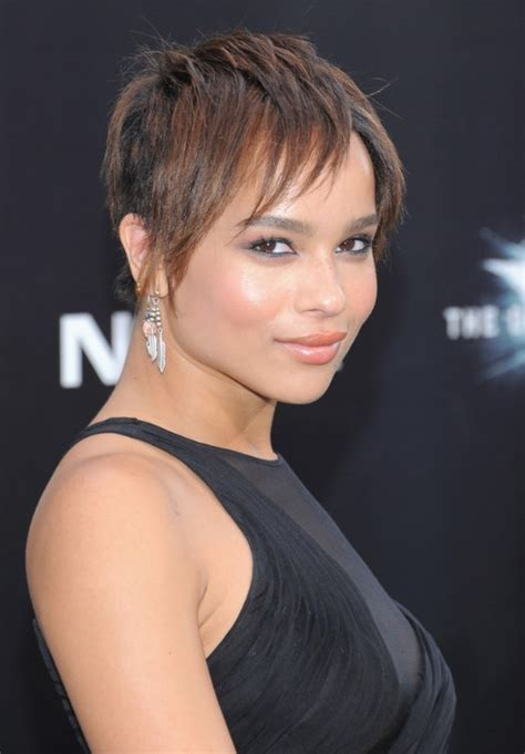short hairstyles for winter 2013 celebrity zoe kravitz short straight haircut for 2013