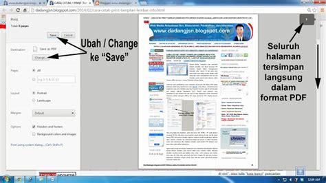 format file halaman web adalah cara menilkan format cara menyimpan seluruh halaman hasil cek lembar info ptk
