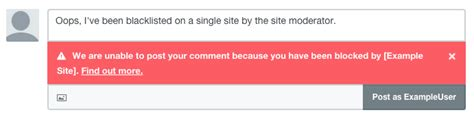 Has Posted A Message On Websit by Who Deleted Removed My Comment Or Blocke 183 Disqus