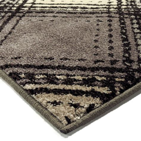 small rug orian rugs plush pile boxes soho diamonds gray area small rug 4307 5x8 orian rugs