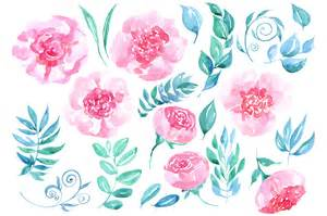 watercolor flowers 23 png clipart by watercolorflowers