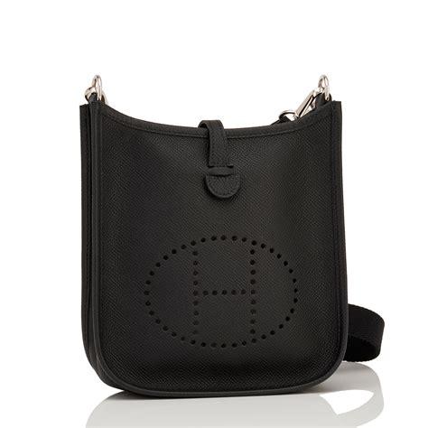 Hermes Black hermes evelyne tpm bag black epsom palladium hardware