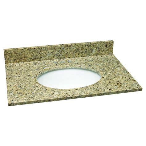 design house granite vanity top design house 31 in w granite vanity top in venetian gold