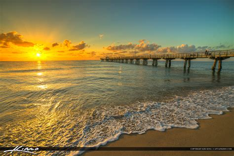 Property Records Broward County Florida Pompano Pier Broward County Florida Water Royal Stock Photo