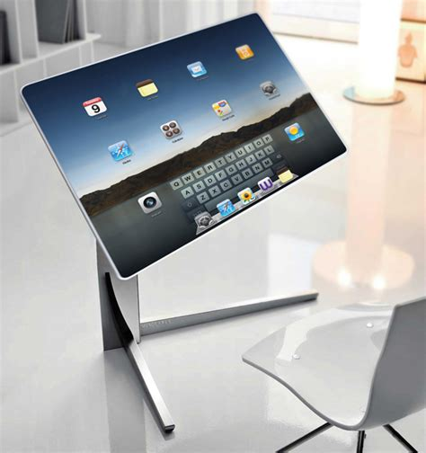 Computer Desk Gadgets Is This The Desk Of The Future Follow Technology Best Source For Technology News