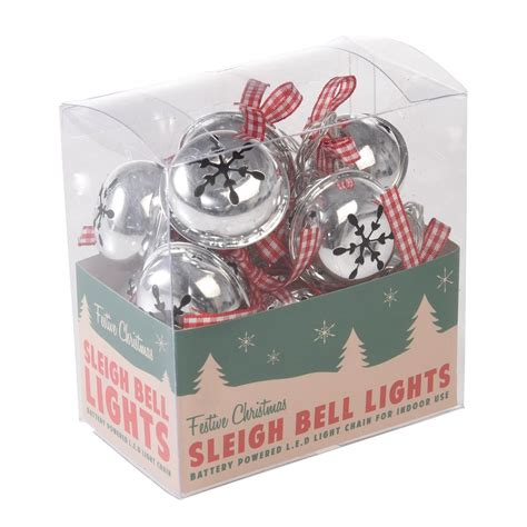 christmas lights string of 10 string of 10 led sleighbell christmas lights rex london
