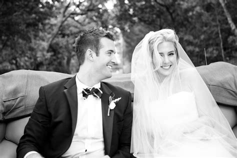 black white wedding photo classic bride and groom onewed com