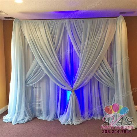 party draping fabric party rentals gallery ava party designs ct ny 203