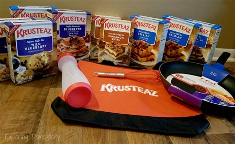 Breakfast Giveaway - breakfast for dinner busy mom s secret weapon and amazing krusteaz giveaway