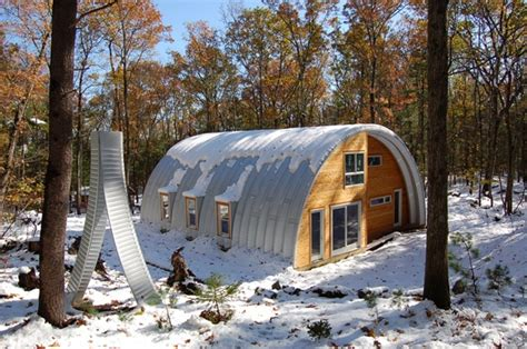 quonset hut style homes building