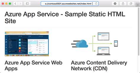 tutorial web app add a cdn to an azure app service microsoft docs