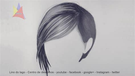 desenho cabelo como desenhar cabelo realista narrado passo a passo