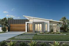 skillion roof split level facade house house cladding split level house plans