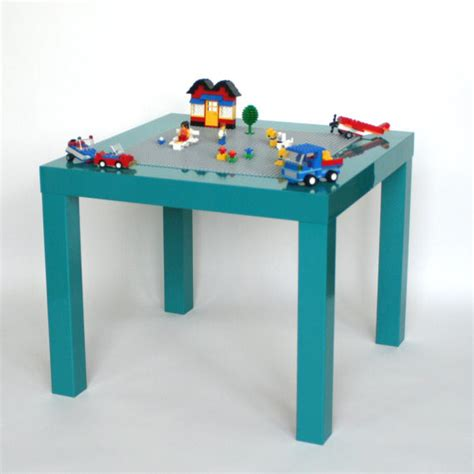 Toddler Lego Table by Lego Table High Gloss Turquoise By Vine Maker