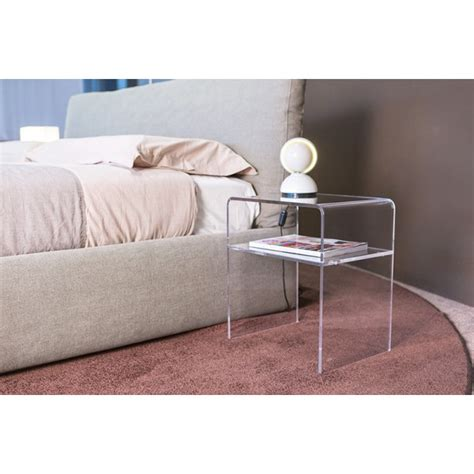 clear plastic bedside table modern bedside tables acrylic clear perspex stand