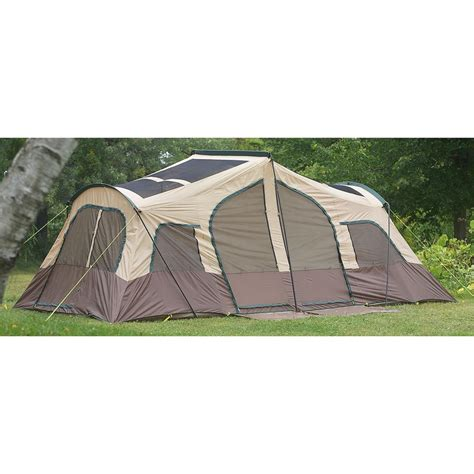 cabin tents texsport 174 big sky 3 room family cabin tent 172760