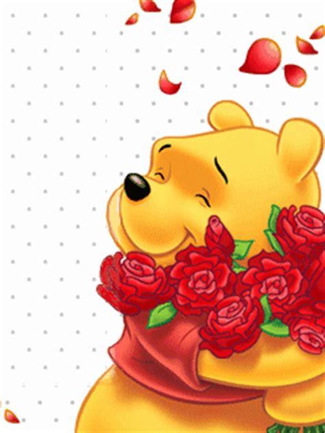 wallpaper bergerak winnie the pooh download pooh with red roses screensaver