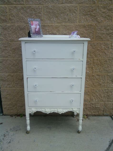 249 00 vintage tall painted and distressed dresser this