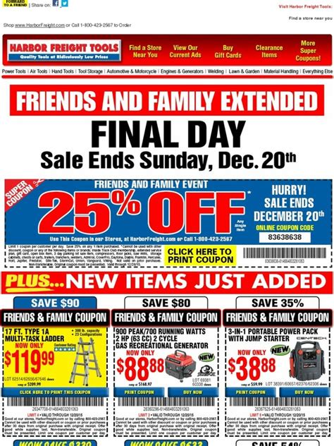 Harbor Freight Printable Gift Card